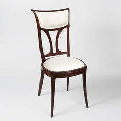 Pair of French Art Nouveau Chairs Seating Furniture Antique Decorative Arts Tiffany Lamps Art Nouveau