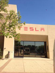 Tesla Motors HQ στην πόλη Palo Alto, CA