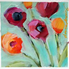 www.donnadowney.com collections original-art-prints products original-poppies-in-agreement
