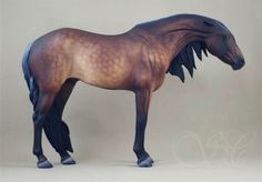 Breyer Giselle customized & painted by Sue Kern.