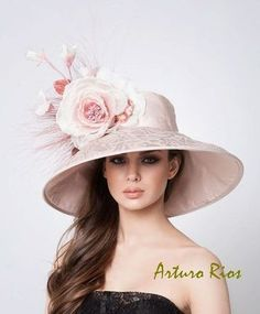 kentucky derby hat, Couture Hat, Designer hats, Arturo Rios hats, Fashion hats