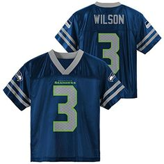 Russell Wilson Seattle Seahawks Navy Blue Home Player Jersey Youth ** You can get additional details at the image link. (This is an affiliate link) #Shirts