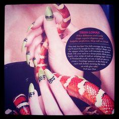 Lady Gaga's nail artist