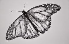 Ink Drawings Stippling assignment: have students pick out an insect or animal they like and stipple it or make a dot drawing - Stippling Art, Dots Art, Dotted Drawings, Pointalism Art, Animal Drawings, Ink Art, Ink Pen Drawings, Insect Art, Art