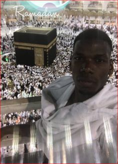 World's most expensive player Paul Labile Pogba has ignited the internet with posts that revealed his religion as Islam. The Manchester United midfielder in a post onTwitter on Sunday wished muslims a happy Ramadan. He wrote: Ramadan Kareem…Bon Ramadan. In an Instagram, Pogbashows himself in...