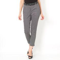 Stretch Cotton 7/8 Trousers ANNE WEYBURN