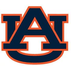 NCAA Auburn Tigers College Large Wall Accent Stickers Set
