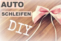 Mit dieser Video Anleitung könnt ihr DIY Autoschleifen zur Hochzeit ohne viel Aufwand ganz einfach selber machen!