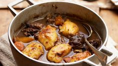 Braised beef with horseradish dumplings| Recipes | Yours
