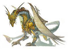 Clockwerk Dragon (Gargantuan)