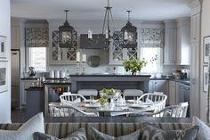 gray kitchen design idea 68