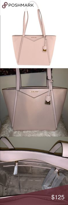 8cdc1c13ce NWT Micheal Kors Whitney soft pink tote Brand new with tags. Got as a gift