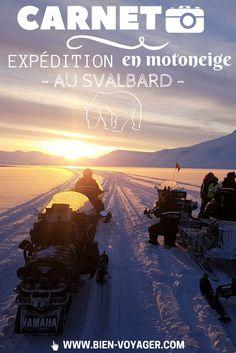 Expédition motoneige au Svalbard  #PHOTO #SVALBARD #NORVEGE #MOTONEIGE #HIVER  --- LIEN → http://www.bien-voyager.com/expedition-motoneige-svalbard/