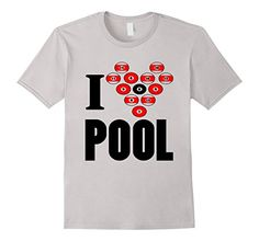 I LOVE POOL T-Shirt, Gift for Snooker Billiard & Pool Player - Male Small - Silver The White Friday http://www.amazon.com/dp/B01BKKE47S/ref=cm_sw_r_pi_dp_Vi4Xwb09227SB#The_White_Friday, #Kids_Shirt #tshirt #shirt #amazon_shirt #MEN_SHIRTS #shirts_for_men #amazon_fashion #shirts_for_girls,   #shirts_for_teens #tshirt_for_boys, #tshirt_for_kids #tshirt_for_men #shirts_for_him, #shirts_for_her #tshirt_for_girls   #i_love_pool #Snooker_Billiard #Pool_Player #funny_shirt