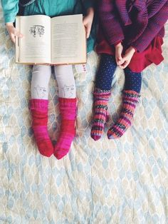 storybooks + knit so
