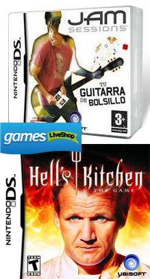 ¿Harán el juego de #Chicote...?  Pack Nintendo DS: Hells Kitchen + Jam Sessions  Precio 5.95€  $7.67