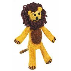 Woolie Finger Puppet - Lion - Wild Woolies (T)