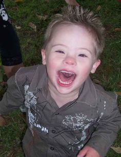 i love down syndrome children so much. they are the best teachers.