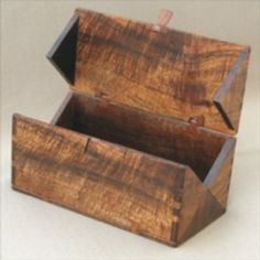 Folding Box Woodworking Plan by John C Lee a really good idea