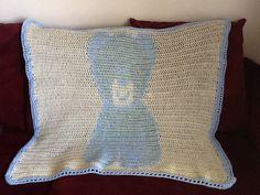 Teddy bear baby blanket crochet