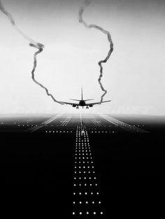 time for landing.