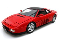 Hotwheels Elite Edition Ferrari 348 ts Elite Edition 1/18 Red