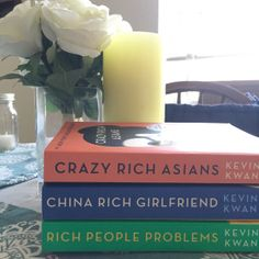 2018 in books: 32 books read, including the Crazy Rich Asian series. #books #bookstagram #whattoread