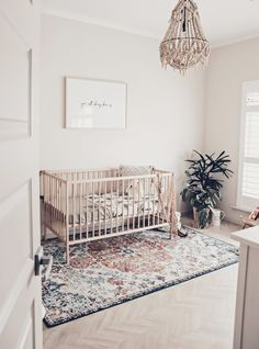 I feel like the nursery wouldn't be massively decorated - more minimalist. Rosie would have been more focused on a healthy baby rather than over the top nursery.