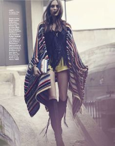 gipsy queen: lary arcanjo by peter gehrke for grazia france 7th june 2013 | visual optimism; fashion editorials, shows, campaigns & more!