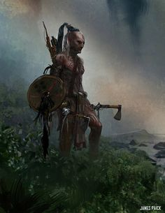 Project Warrior - The Mist, James Paick on ArtStation at https://www.artstation.com/artwork/project-warrior-the-mist