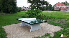 Pingpongtafel Groen bij Gemeente Dongen in Dongen