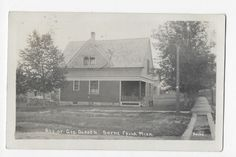Beebe Mich RPPC Boyne Falls Michigan Real Photo Postcard   eBay