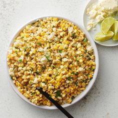This summer side dish is reminiscent of your favorite grilled Mexican street corn known as elotes, only off-the-cob. Grilled Vegetable Salads, Roasted Vegetable Recipes, Grilled Vegetables, Veggies, Veggie Recipes, Side Dishes For Bbq, Summer Side Dishes, Vegetable Side Dishes, Corn Recipes