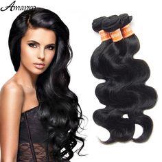 Amapro Peruvian Virgin Hair Body Wave Cheap Grade 5A Peruvian Hair 100% Human Hair Weaving 3 Bundles Virgin Hair Bundle Deals