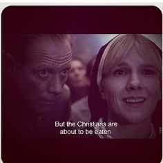 AHS: Asylum - Sister Mary Eunice has been taken over by el diablo Ahs Asylum, American Horror Story 3, Misty Day, Horror Show, Evan Peters, Sarcasm Humor, Coven, Atheist, Best Shows Ever