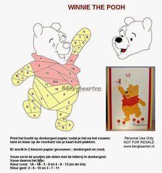 Irisvouwen: Winnie the Pooh