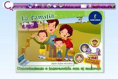 EL BLOG DE INFANTIL DEL SANTA ANA: PROYECTO LA FAMILIA ED. INFANTIL 5 AÑOS