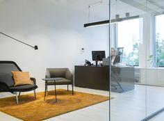 Moderne kontorlokaler, Oslo - Nyfelt og Strand Interiørarkitekter Oslo, Modern