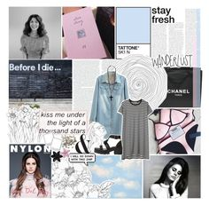 """""""if i wait for a holiday, could it stop my fear?"""" by roxymarie ❤ liked on Polyvore featuring Chanel, INC International Concepts and ASOS"""