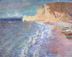 Morning At Etretat Painting