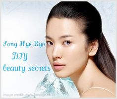 Beauty secret recipe:ICE CUBE for slimmer face The lovely actress also uses ice cubes to massage into her skin, firming and tightening up her skin thus making her face seem smaller.  I've read this trick before but I'm not so sure if ice is too good if used too frequently as it may cause broken capillaries for some skin types.