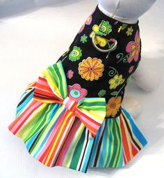 DOG Harness dress Puppy Cat or small pet clothes