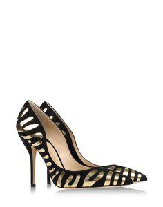 Paul Andrew's Tigrado pump in gold #Metallic print High Heels Shoes New Season Fall Winter 2014