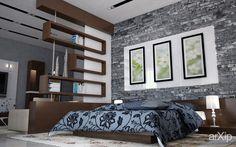 Спальня: интерьер, зd визуализация, квартира, дом, спальня, современный, модернизм, 30 - 50 м2, интерьер #interiordesign #3dvisualization #apartment #house #bedroom #dormitory #bedchamber #dorm #roost #modern #30_50m2 #interior arXip.com
