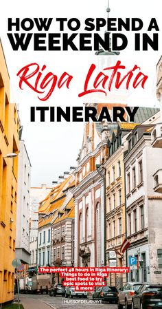 Wondering what to do for a weekend in Riga Latvia? Well this Riga weekend guide contains helpful information on the best things to do in Riga, where to find art nouveau buildings in Riga Latvia Old Town, House of the Blackheads, three brothers, the best photography spots in Riga, and where to stay for your very first trip to Riga. The complete to 48 hours in Riga Latvia travel guide #visitriga #Latvia #visitlatvia #europedestinations Road Trip Europe, Places In Europe, Europe Travel Guide, Travel Destinations, Travel Plan, Travel Ideas, European Destination, European Travel, Visit Riga