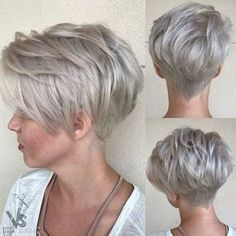 Collection Of Ash Blonde Pixie With Nape Undercut 100 Mind Blowing Short Hairstyles For Fine Hair Pixies - 2018 New Hairstylescuts Choppy Pixie Cut, Short Choppy Haircuts, Edgy Pixie Cuts, Long Pixie Hairstyles, Best Pixie Cuts, Short Hairstyles For Women, Choppy Fringe, Short Cuts, Natural Hairstyles