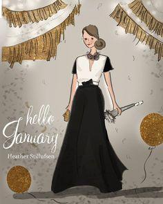 ❧ Les mois de l'année ❧ by Heather Stillufsen