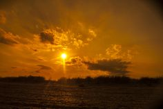 Sky and sand by Andrada Nistor Landscape Photos, Sky, Celestial, Sunset, Outdoor, Heaven, Outdoors, Heavens, Sunsets