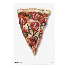 Items similar to Ken Carbone: AIGA/NY Anniversary Poster on Etsy Typography Inspiration, Design Inspiration, Pizza Art, Great Pizza, Make Your Own Logo, Premium Logo, Food Drawing, Poster On, Film Poster