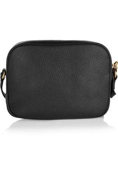 Gucci - Soho Disco Textured-leather Shoulder Bag - Black - one size